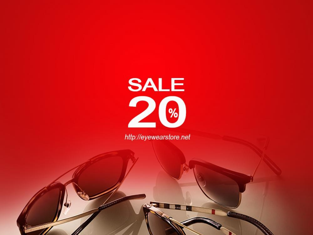 Eyewear STORE giảm tới 20% toàn bộ kính mắt mừng khai trương Showroom kính mắt cao cấp
